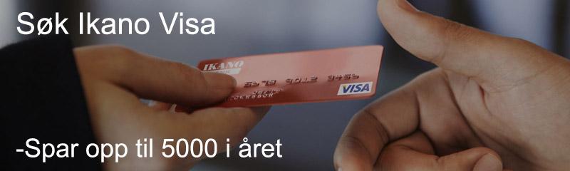 Søk ikano visa kredittkort
